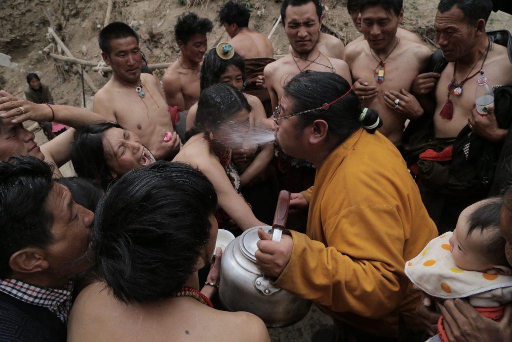 《開水喇嘛》劇照。圖/台北電影節提供