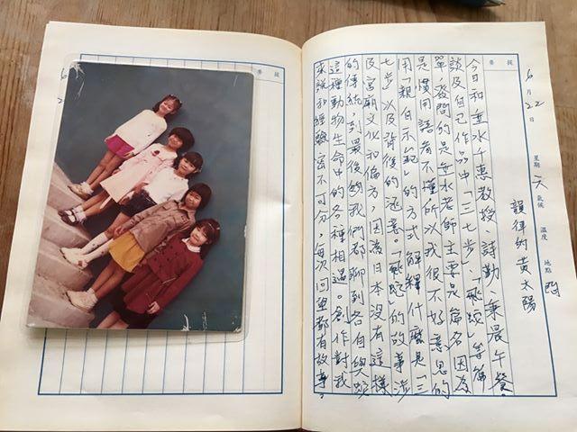 手寫日記|六月|騷夏|6/22