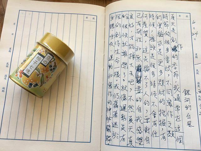 手寫日記|六月|騷夏|6/24